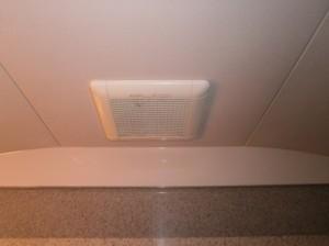 浴室換気扇取替工事 施工事例 刈谷市 施工前