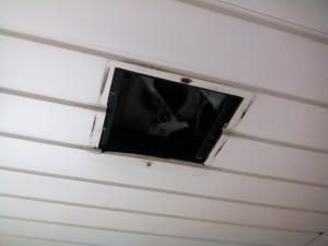 名古屋市北区 換気扇取替工事 浴室施工前