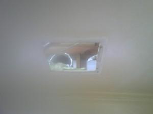 浴室換気扇取替工事 撤去後