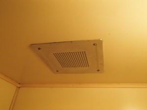 浴室換気扇取替工事 施工前