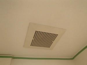トイレ換気扇取替工事 施工前