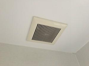 浴室暖房換気扇取替工事 施工前