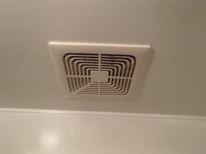 三菱浴室換気扇取替工事(名古屋市天白区)施工前