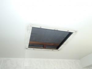 三菱浴室換気扇取替工事(尾張旭市)施工前