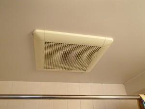 三菱浴室換気扇取替工事(名古屋市中村区)施工前