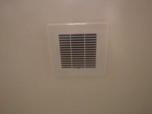 洗面所換気扇