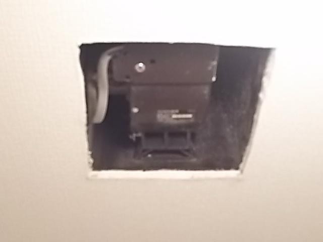 既設トイレ換気扇