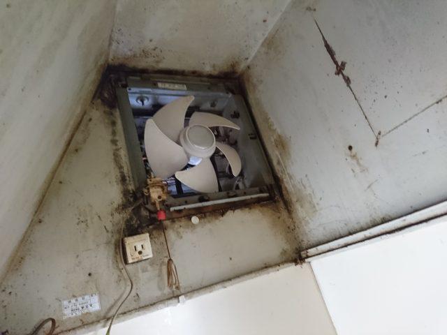 既設台所換気扇