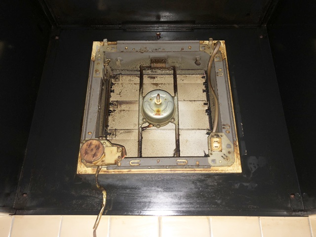 既設の台所換気扇